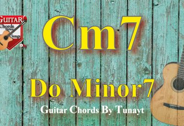 cm7,gitarda cm7,do minor7,do minör7,dominant7,how to play dominant7 chord on guitar,cm7 chord,
