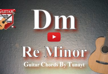 gitarda dm akoru,gitarda re minor akoru,gitarda re minör akoru