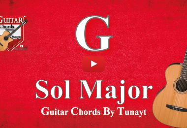 sol major chord on guitar