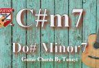 c#m7,do diyez minor7,do sharp minor7,gitarda do diyez,dominant7,c#m7 chord on guitar,gitar
