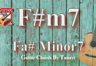 f#m7,fa sharp minor7,fa diyez minör7,fa# dominant7,fa# minor7 akoru gitarda nasıl
