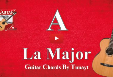 la major akoru gitarda nasıl basılır,how to play a chord on guitar