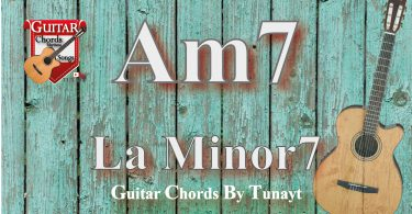 Am7 akoru,gitarda am7,chord am7,accord am7,la minör7 akoru,la minor7 chord guitar