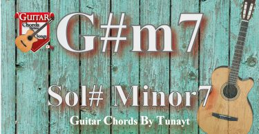 G#m7 akoru,gitarda g#m7,chord g#m7,sol sharp minor7 chord,sol diyez minor7 akor
