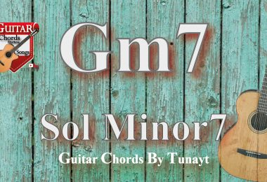 Gm7 akoru,gitarda gm7,chord gm7,accord gm7,sol minör7 akoru,sol minor7 chord guitar