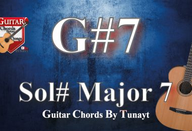 Sol# major7 | How to play G#7 chords on guitar | Sol# Major 7 Akoru Gitarda Nasıl Basılır ?