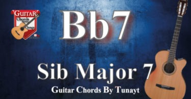 ★ La#7 | Bb7 ★ How to play A#7 | Bb7 chords on guitar | La#7 | Bb7 Akoru Gitarda Nasıl ?
