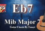 how to play eb7 chord on guitar,eb7 akoru gitarda nasıl basılır